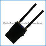 無線315MHz 433MHz車のリモート・コントロール妨害機; ポータブル2のアンテナリモート・コントロールシグナルの妨害機