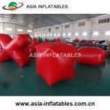Soute faite sur commande d'Inflatables Paintball, étiquette de tir à l'arc, étiquette de laser
