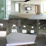 Bureau de réception au détail acrylique dentaire d'hôpital de la personne DEL du luxe 3 de meubles