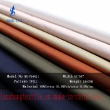 tela de mistura de 65%Cotton 31.5%Polyester 8.5%Nylon para o revestimento da roupa
