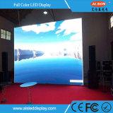 Schermo dell'interno del video segno LED della parete di P4 LED con l'alimentazione elettrica di Meanwell/G-Energy