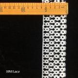 5.5cm Venise 레이스 손질, 반점 원형 패턴, 가벼운 상아빛 레이스, 가벼운 상아빛 레이스 손질 유일한 손질 레이스 Hmw6268