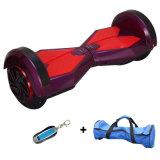 """착색된 빛 스쿠터 8 """" Bluetooth 각자 균형을 잡는 스쿠터 지능적인 전기 Hoverboard 전기 스케이트보드 전기 스쿠터를 가진 2개의 바퀴 Hoverboard"""