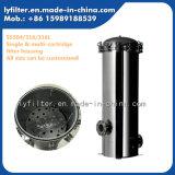 """304/316/316L Kassetten-Filtergehäuse des Edelstahl-5 des Kern-30 """" für industrielles Wasserbehandlung-System"""