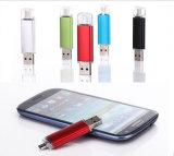다채로운 듀얼포트 4GB OTG USB 섬광 드라이브 인조 인간 Smartphone