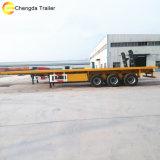 Eixo 2 40ton 40FT contentor semi reboque para venda de mesa