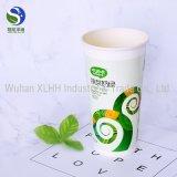 Copo de papel descartável por atacado de parede da ondinha de China para beber quente