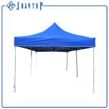 Il baldacchino piegante di alluminio d'acciaio schiocca in su la tenda del Gazebo della tenda foranea di incandescenza