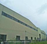 """Entrepôt chaud de bâti de structure métallique de coût bas de vente avec le revêtement de panneau """"sandwich"""""""