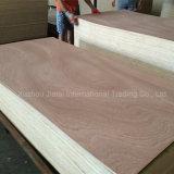 18mm para los muebles de madera contrachapada de Sapele con BB/CC Grado contrachapado comercial
