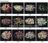 Decoratie van de Kunst van de Spijker van de Bergkristallen van de Toebehoren van de Kunst van de Ontwerpen van de Spijker van de Kwaliteit van de Verkoop van de fabriek de Directe Uitstekende (nr-22)