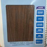 Papel de aluminio de madera del grano de la cereza profunda