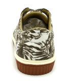 Chaussures occasionnelles de la plus défunte de modèle de la Chine impression de fleur avec le textile