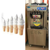 Automatische Nahrungsmittelgrad-Eiscreme-Maschine des Edelstahl-304