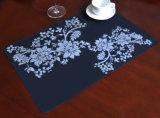 Циновка обедая таблицы силикона с изготовленный на заказ печатание