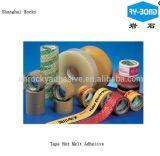 Pegamento piezosensible del derretimiento caliente al por mayor de la alta calidad de China para la etiqueta autoadhesiva permanente