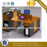 Escritorio de madera en forma de L melamina Muebles de oficina (HX-8NR0046)