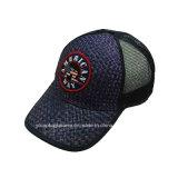최신 판매 괴롭혀진 밀짚 트럭 운전사 모자