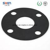 Ronda personalizado de caucho EPDM NBR la brida de la arandela de caucho de silicona, EPDM