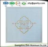 Venda por grosso de materiais de construção de suspensão de alumínio para secções de tecto decorativa