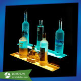 Облегченная индикация встречной верхней части Acrylic с СИД для штанг стоя вина, витринный шкаф шипучки