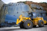 바퀴 로더를 세륨을%s 가진 취급하는 강력한 성과 구획 28 톤