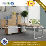 Muebles de oficinas de madera del color del roble del escritorio clásico de la oficina conceptora (NS-ND016)
