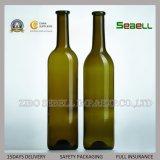 高い等級750mlの先を細くすることのパントの底(NA-052)が付いているガラスワイン・ボトル