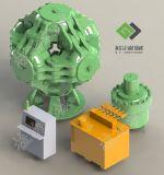 중국은 특별한 열처리를 가진 다이아몬드 입방 수압기를 설계했다