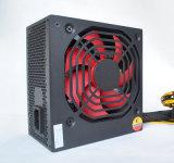 큰 파도를 가진 PC 전력 공급 또는 컴퓨터 PSU 450W는 보호한다