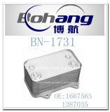 Refrigerador de petróleo de la alta calidad usado para el carro CF65 CF75 CF85 Xf95 Xf105 (1667565/1387035) de la DAF
