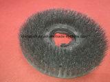 O fio de aço inoxidável Vassoura Estrada escova com fixador (AA-715)