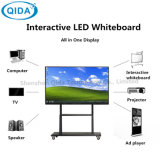75inch 4K UHD Note LCD-Bildschirmanzeige für Ausbildung