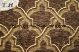 Tessuto di Chenille della tappezzeria del tessuto del sofà di disegno di Gemotric