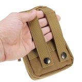 Bolso móvil del teléfono de la cubierta de Molle del adminículo de la correa de la célula táctica polivinílica de la cintura