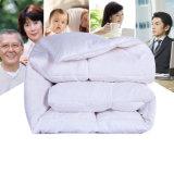 Baumwolle 100% 233tc prüft unten Gewebe mit weißem Enteunten Duvet des Hotel-230GSM