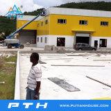 Entrepôt préfabriqué personnalisé par 2015 de structure métallique de coût bas