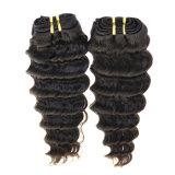 Trama brasileira do cabelo humano de Remy do Virgin da onda profunda