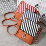 Messenger Bag Causal女性ショルダー・バッグのストリップのキャンバスのショルダー・バッグ(WDL0965)