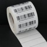 Etiqueta engomada impermeable de encargo al por mayor barata de las escrituras de la etiqueta de envío de la impresión