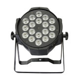 La luz 18X10W LED 5 de la IGUALDAD de Rgbaw LED en 1 batería sin hilos ligera de la IGUALDAD enciende IGUALDAD de DJ de la boda