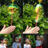 Игрушки ручки зарева цветка пузыря партии малышей детей цветастые внезапные