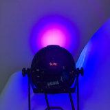 Luz UV completamente de alumínio nova do estágio do diodo emissor de luz do rádio da luz 12PCS 18W 6in1 Rgbaw da PARIDADE do diodo emissor de luz da chegada de Rasha para o evento