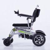 sedia a rotelle piegante leggera di potere di 24V 200W con la batteria di litio