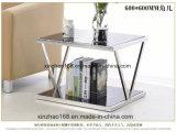 거실 가구 둥근 유리제 금 다방 테이블