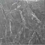Glasig-glänzende graue Porzellan-Fliese des Ziegelstein-sonnige graue Marmor-16X16 Biltmore