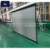 3D Perforated Tab Tension Electric Projector Screen