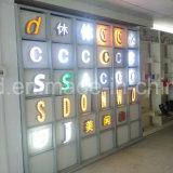 Kundenspezifisches Firmenzeichen LED bezeichnet Signage mit Buchstaben