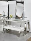 Muebles de la sala de estar del vector de la lámpara de vector de extremo del vector de la cara del vector de consola del acero inoxidable