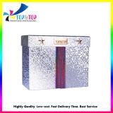 호화스러운 은 특별한 종이 패킹 선물 고정되는 상자
